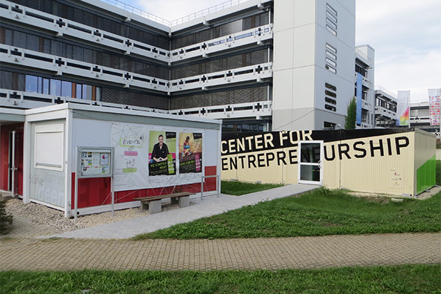 Bürocontainer Center for Entrepreneurship in Reutlingen